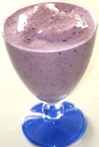 Blueberry Banana Smoothies