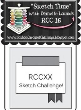 Ribbon Carousel Blog Challenge 16 - Sketch