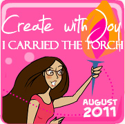 Create With Joy Amber Ink Alumni Badge