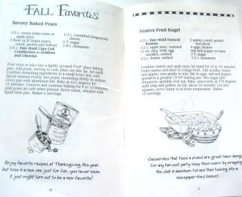 Peek Inside Goosebery Patch Fall Favorites Cookbook