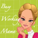 Busy Working Mama Badge