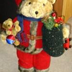 Vintage Christmas Bear