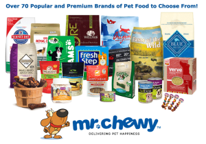 Mr Chewy Offers 70+ Brands Of Pet Products