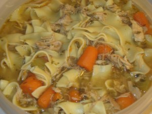 Turkey Noodle Soup at Create WIth Joy