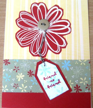 Friend To Friend Card at Create With Joy