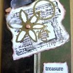 CTMH Lovely Daisy Collage Card