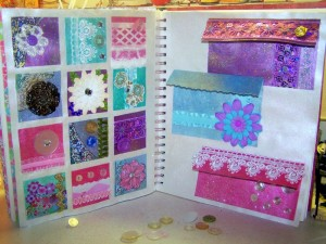 Mamas Little Treasure - Art Journal