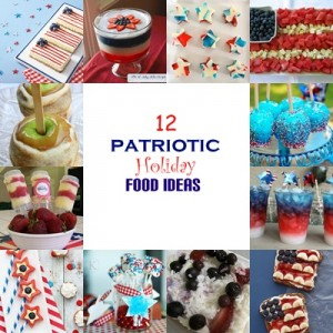 Simply Sweet Home - Patriotic Recipes Collage