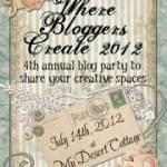 Where Bloggers Create 2012