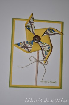 Ashley - Pinwheel Card