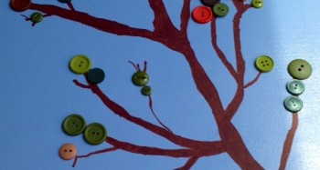 Craft Tree Canvas with Buttons