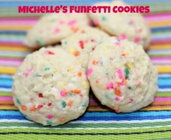 Michelle's Funfetti Cookies