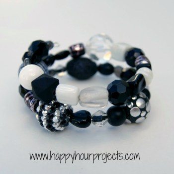 Happy Hour Projects - Beaded Bangle