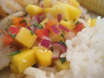 Mango Salsa - Don't Waste The Crumbs