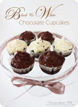 Verena - Black & White Chocolate Cupcakes