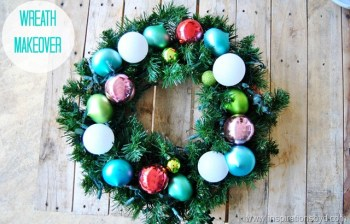 Wreath Makeover - Inspirations by D