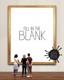 Fill In The Blank - An Inspirational Sketch Book