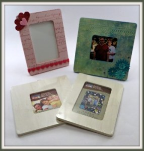 Crafty In Crosby - Altered Frames