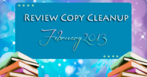 Review Copy Cleanup - February 2013
