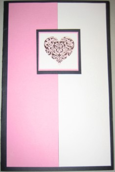 Elegant Heart Card