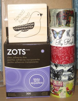 Washi Tapes and Stamp