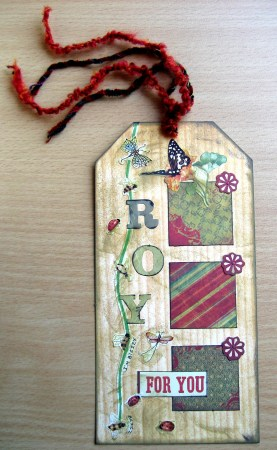 Bookmark for a Friend