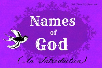 Names Of God Study