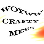 WOYWW Crafty Mess