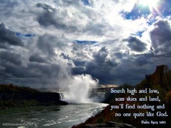 Psalm 89-15 Msg