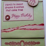 Sweet Dreams & Wishes Birthday Card