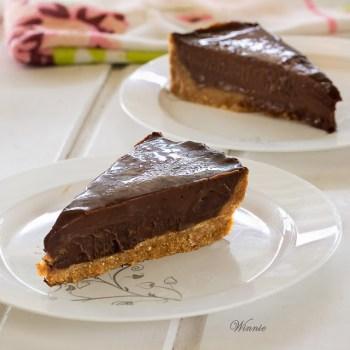 No Bake Chocolate Tart