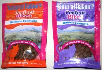 Natural Balance Perfect Bites in Salmon and Rabbit