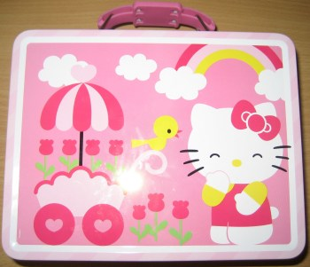 Hello Kitty Tin with Birdie