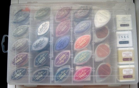 Mini Ink Pad Storage Tin - 2