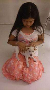 Hannahs New Dog