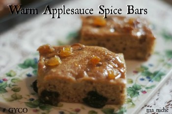 Warm Applespice Bars