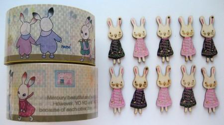 Wholeport Bunny Embellishments
