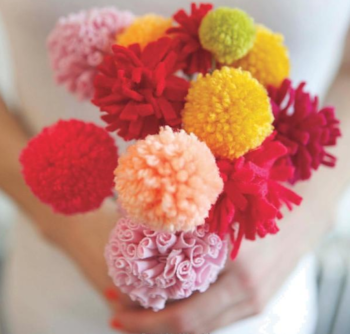 Pom-Poms - Flower Bouquet