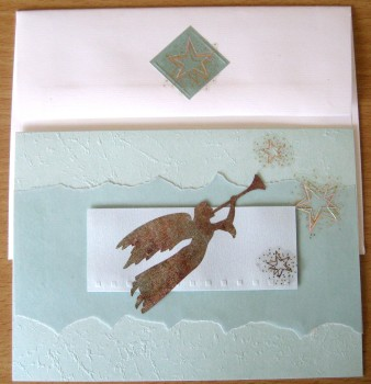 Angel Card and Coordinating Envelope