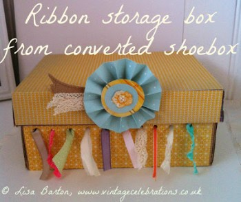 Ribbon Storage Box
