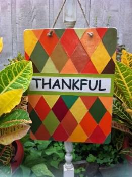 Thankful Sign
