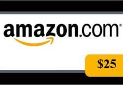 Amazon 25 Giveaway