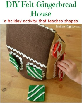 Felt GingerbreadHouse
