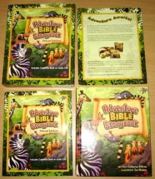 Adventure Bible Storybook Deluxe Edition - Out Of Package