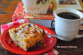 Spicy Cranberry Coffee Cake