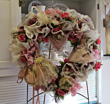 Victorian Heart Wreath