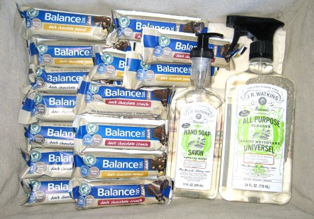 Balance Bar & JR Watkins Spring Cleaning Giveaway