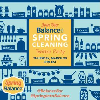 Spring Cleaning Twitter Party