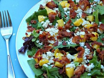 Bacon Mango Salad