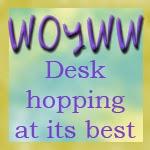 WOYWW Desk